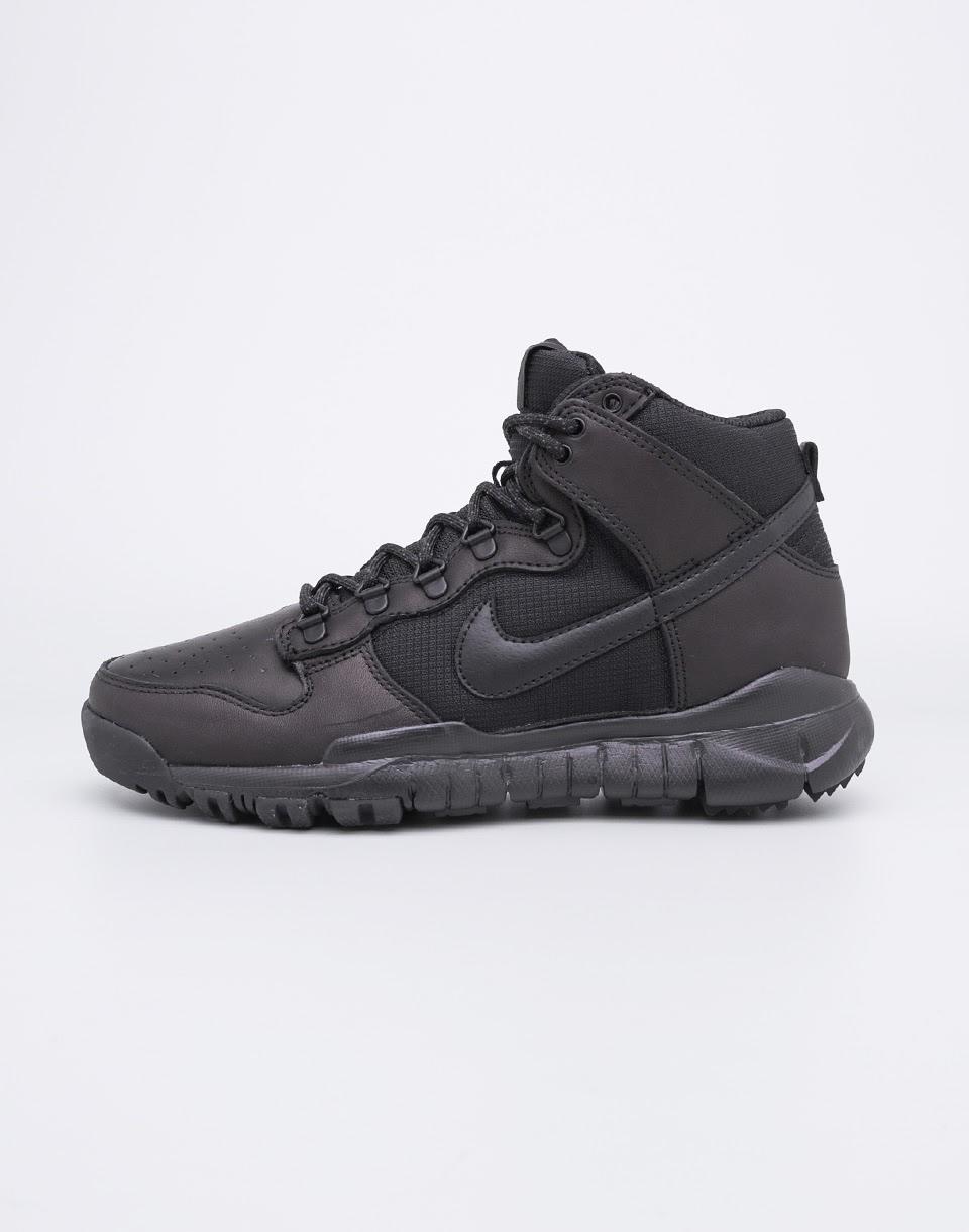 Sneakers - tenisky Nike SB Dunk High Black/Black 42