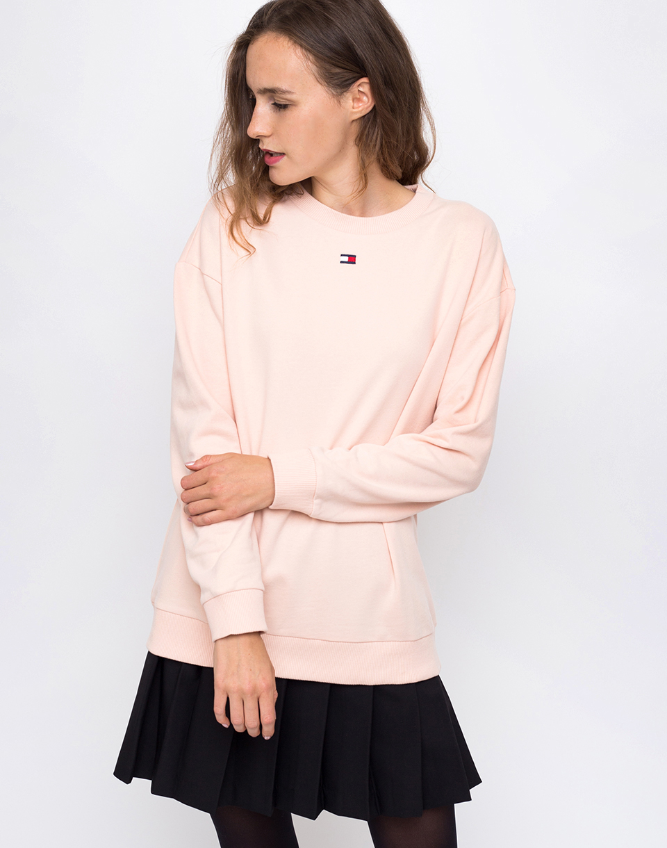 Tommy Hilfiger CN TRACK TOP LS Pale Blush L