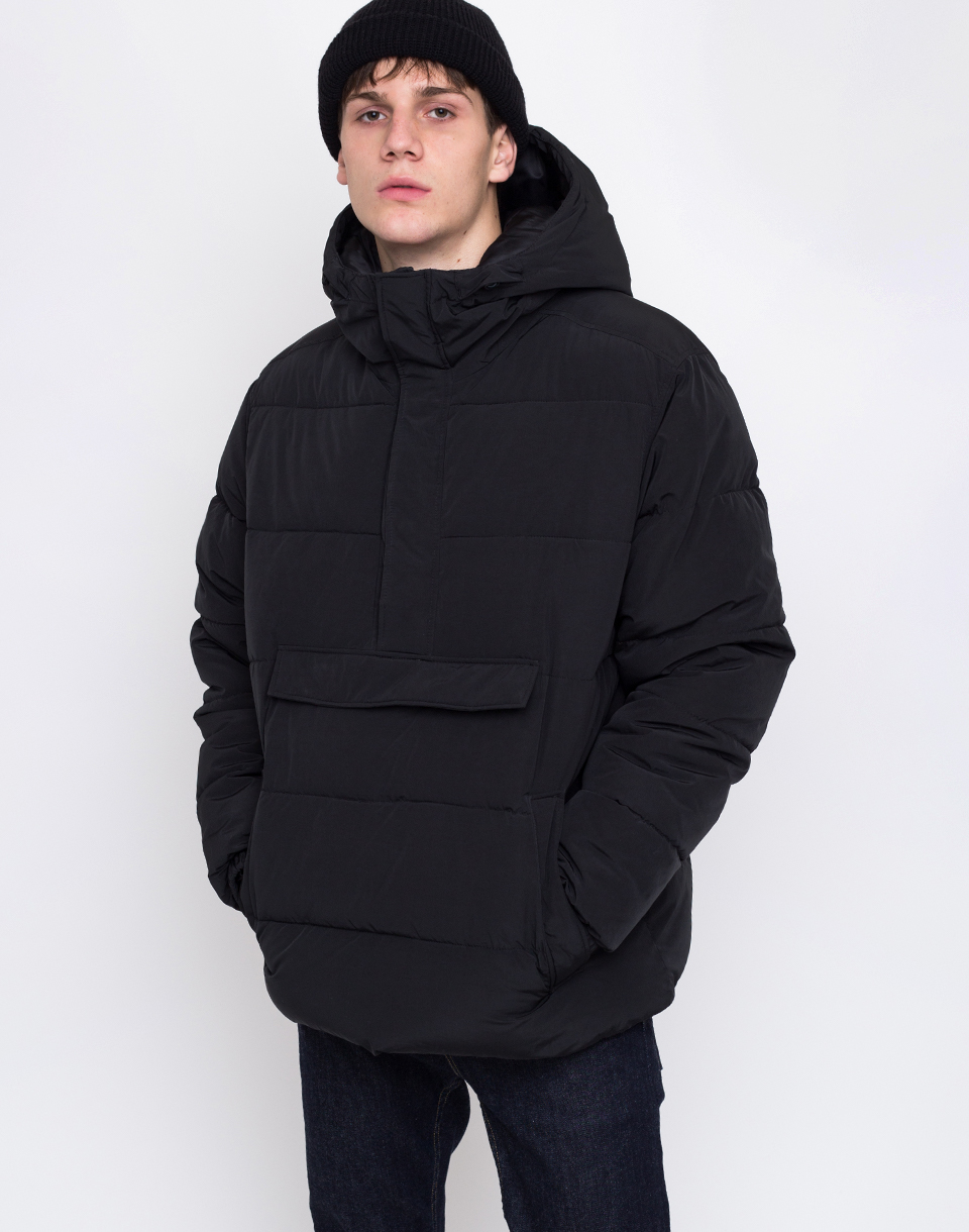 Embassy of Bricks and Logs Preston Down Windbreaker Black L