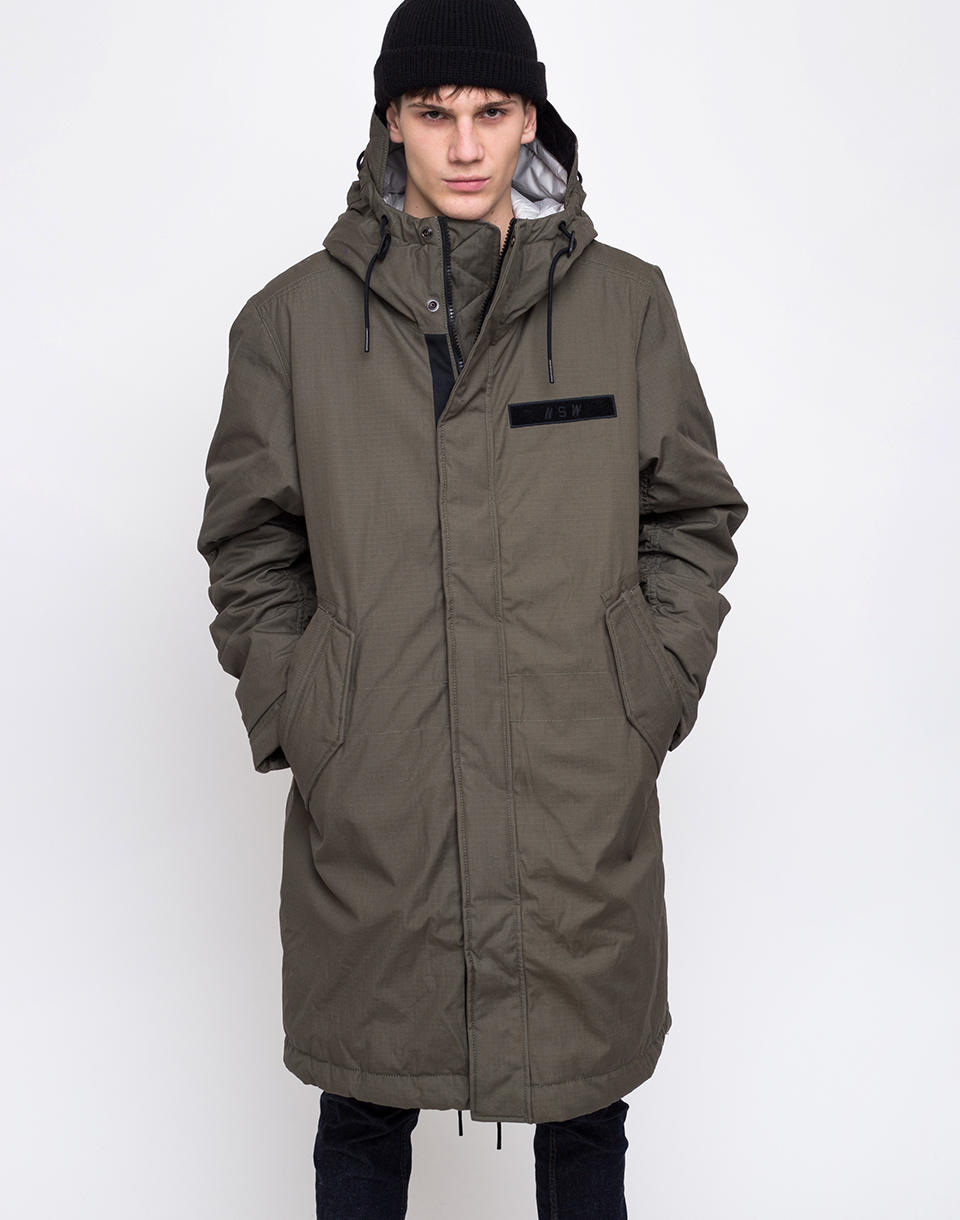 Nike NSW Syn Fill Parka Twilight Marsh   Light Bone   White M
