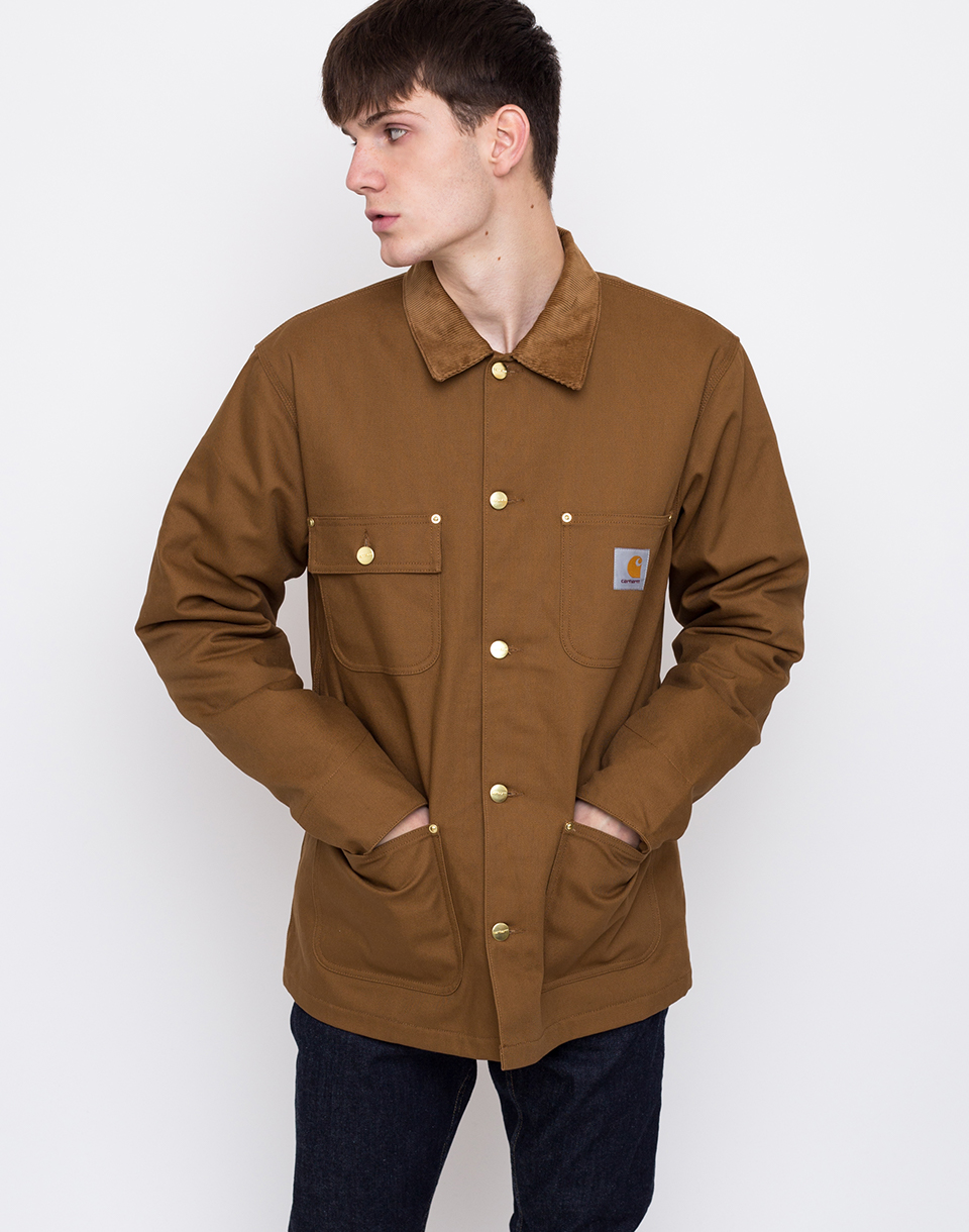 Carhartt WIP Michigan Coat Hamilton Brown rigid L