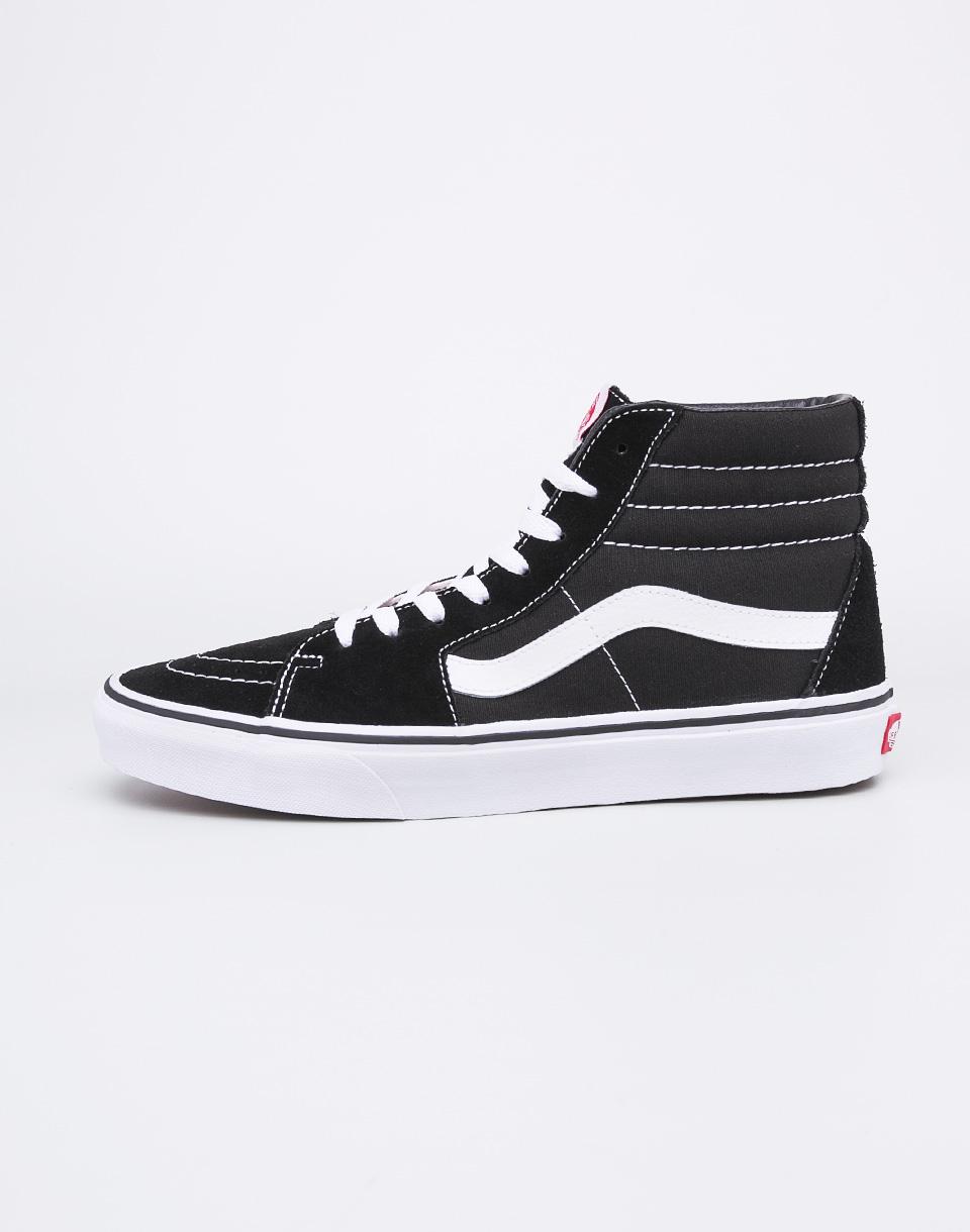 b60d7f0907a Vans Sk8-Hi Black  Black  White 36