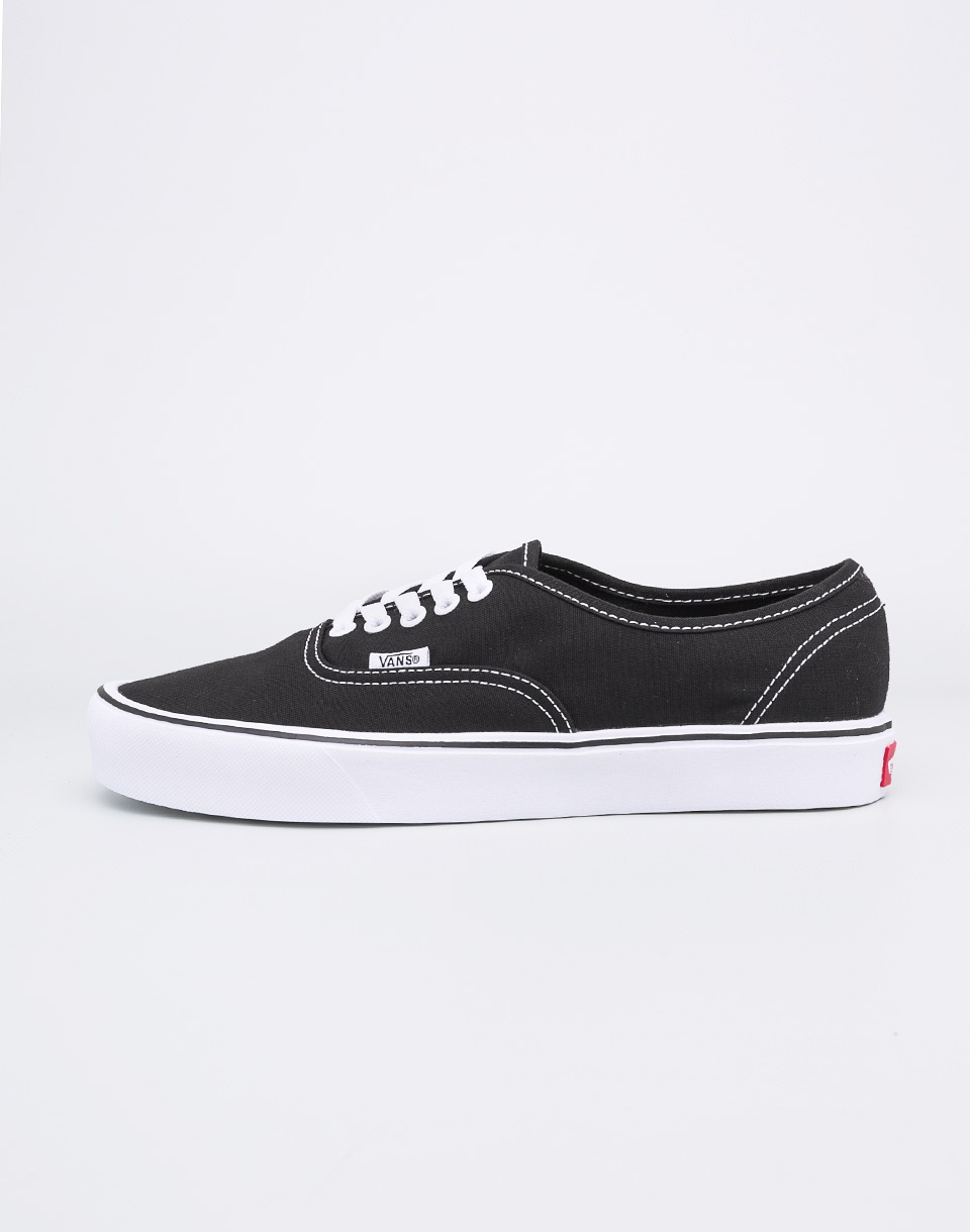 Vans Authentic Lite BLACK WHITE 40 5