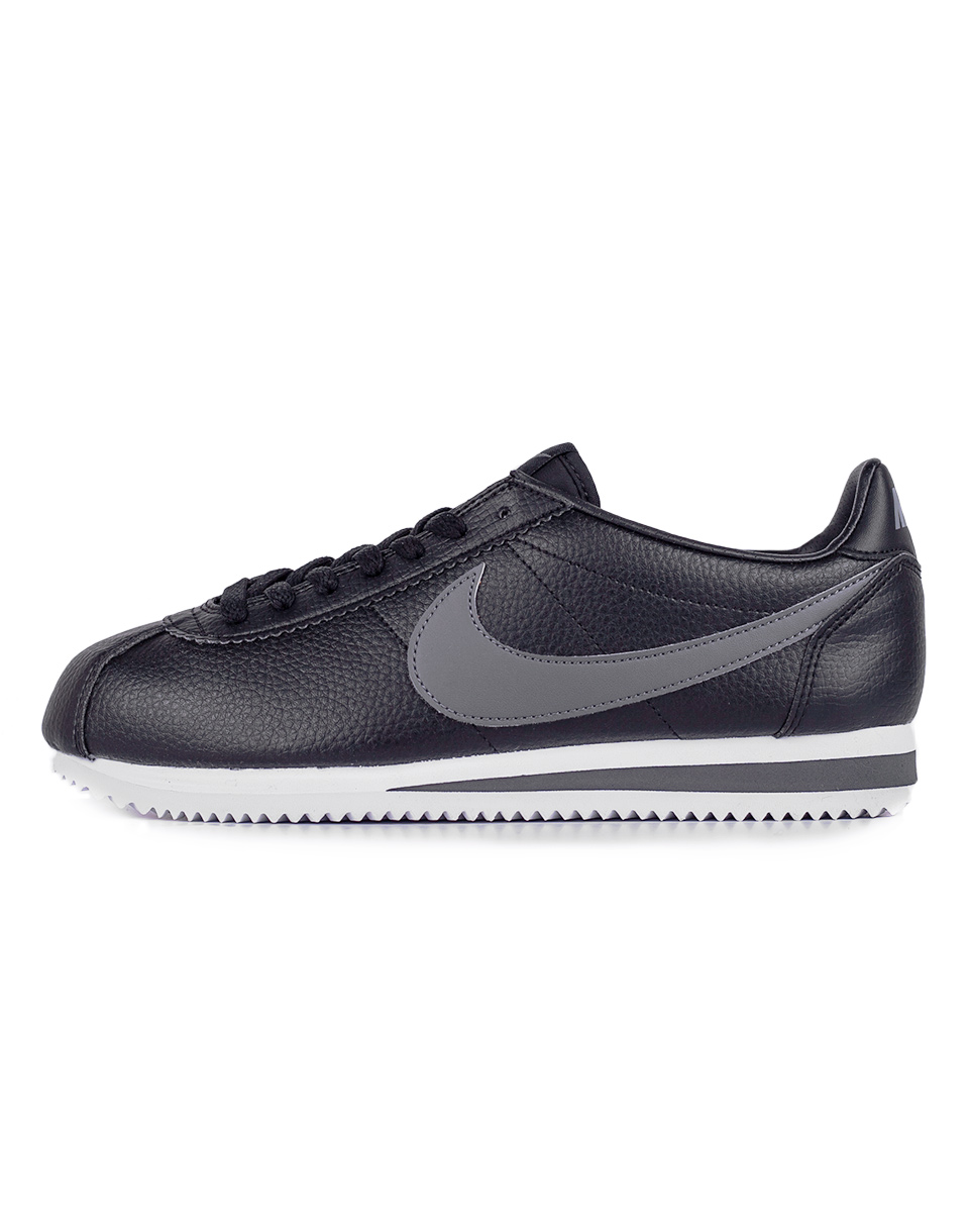Sneakers - tenisky Nike Classic Cortez Leather Black / Dark Grey - White 43 + doprava zdarma