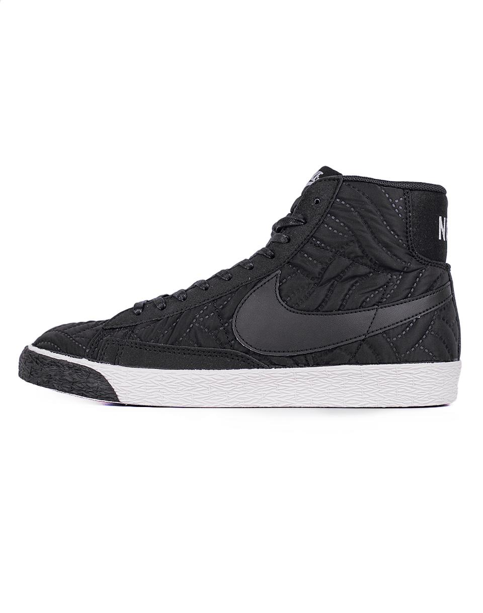 Sneakers - tenisky Nike Blazer Mid Premium SE Black / Black - Ivory 37,5