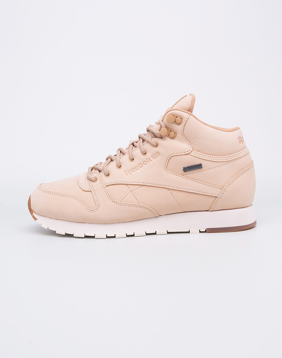 Reebok Classic Leather Mid TWD Goretex   Thin Beige Paperwhite Gum 42 5