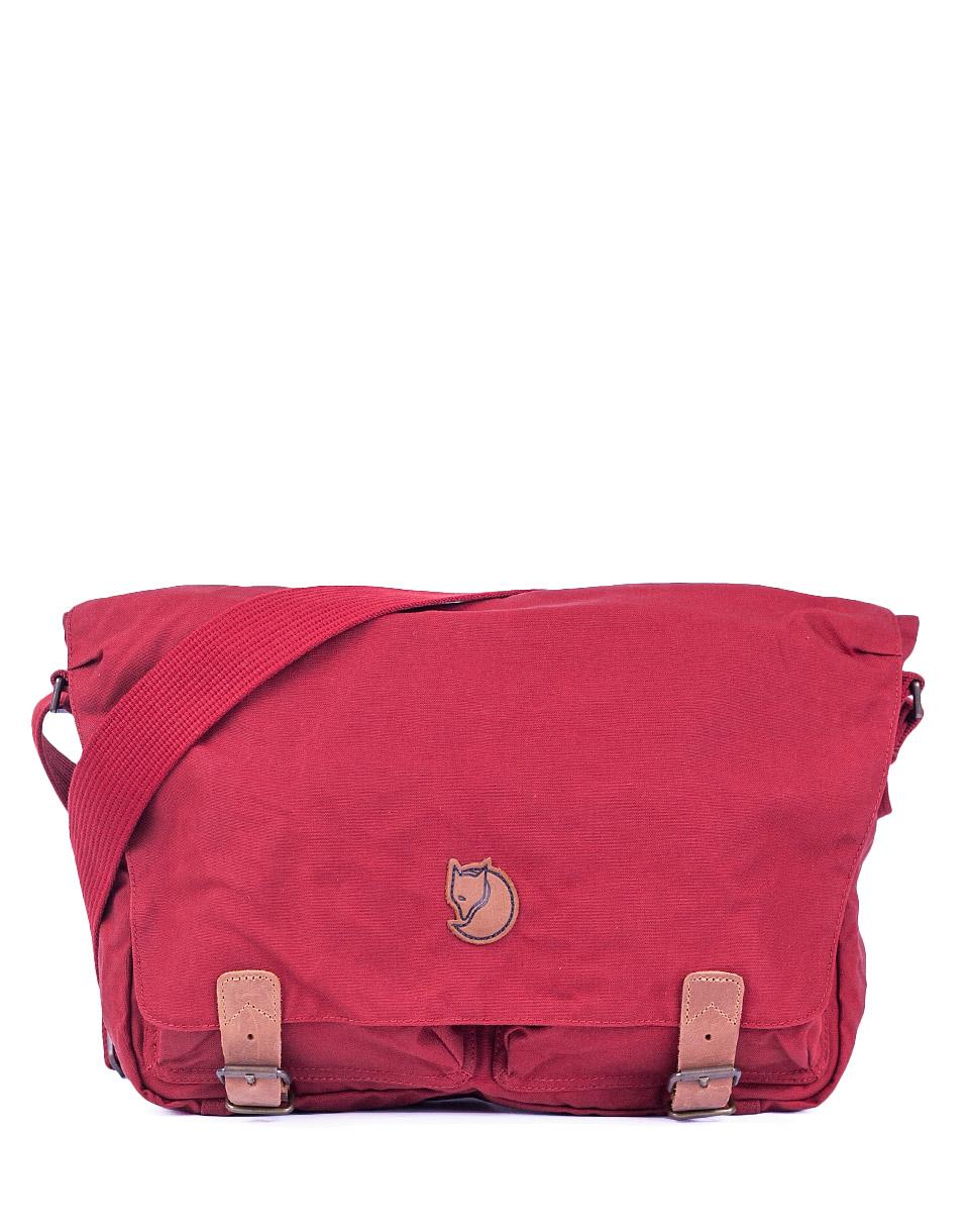 Taška Fjällräven Övik Shoulder Bag 325 Deep Red + doprava zdarma