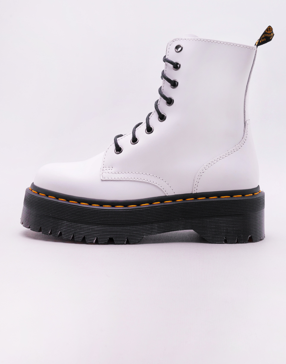 Dr  Martens Jadon White Polished Smooth 38