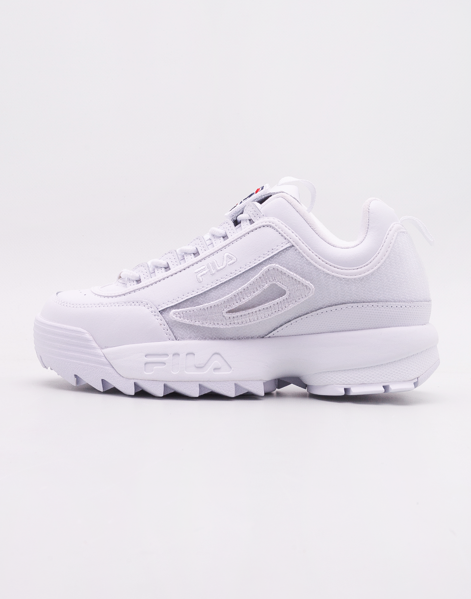 Fila Disruptor II Patches White 41