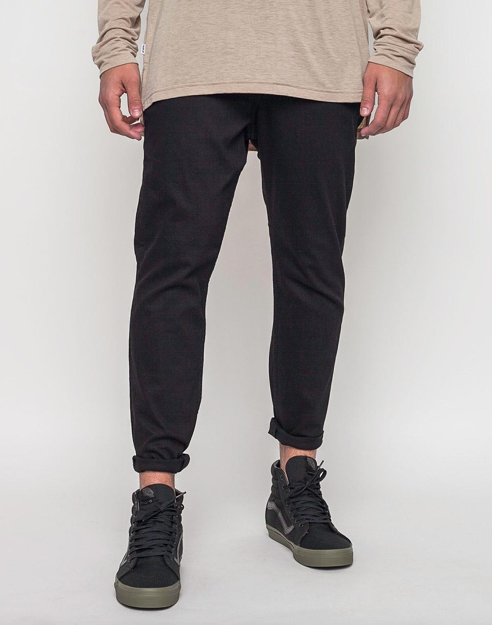 Kalhoty Cheap Monday Dropped New Black w33/l32