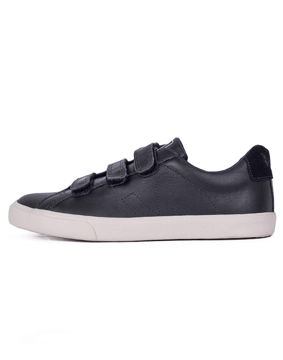 Sneakers - tenisky Veja 3 LOCK BLACK BLACK PIERRE 36 + doprava zdarma