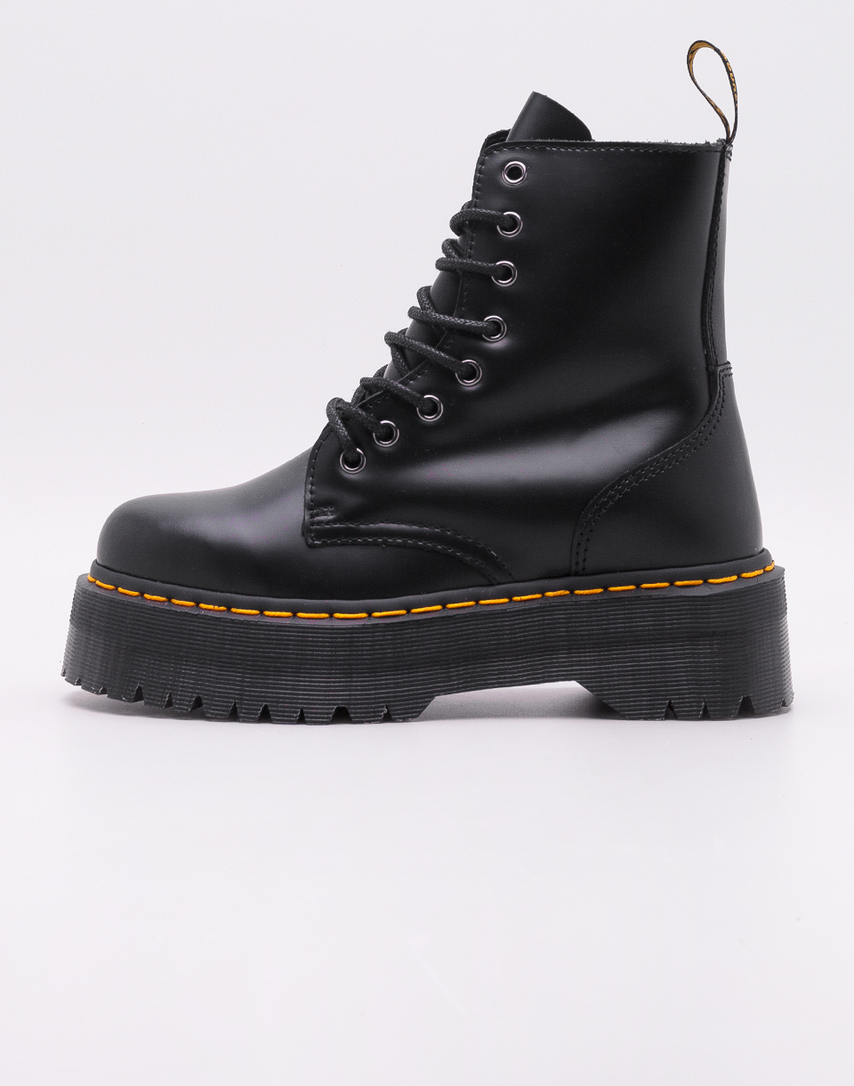 Dr  Martens Jadon Black Polished Smooth 37