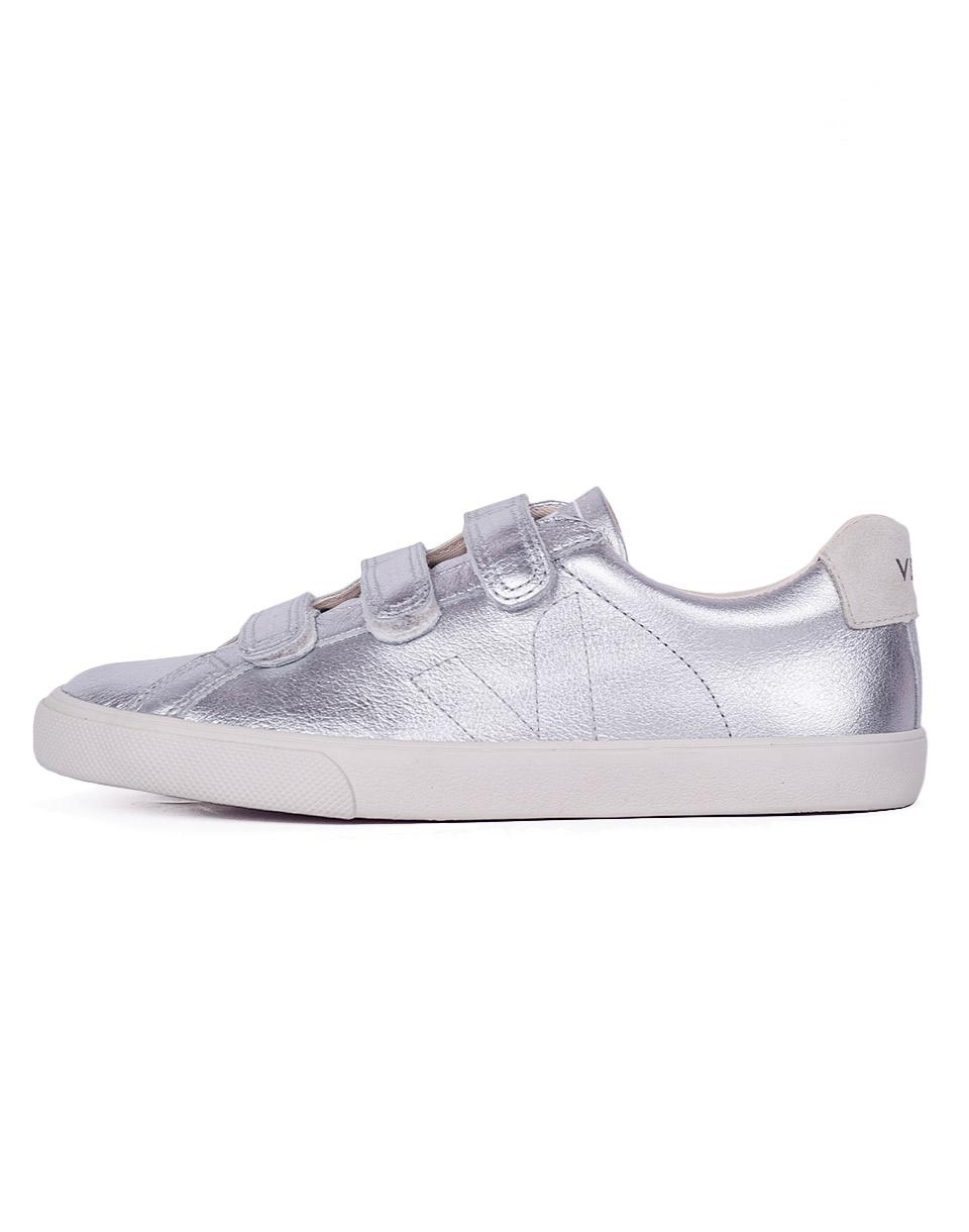 Sneakers - tenisky Veja 3 LOCK SILVER PIERRE 36 + doprava zdarma