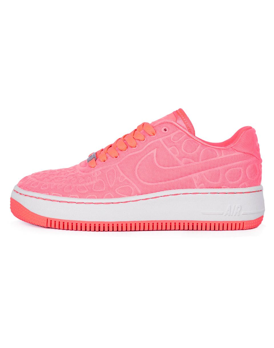 Sneakers - tenisky Nike Air Force 1 Upstep Plush 844877-600 37,5 + doprava zdarma