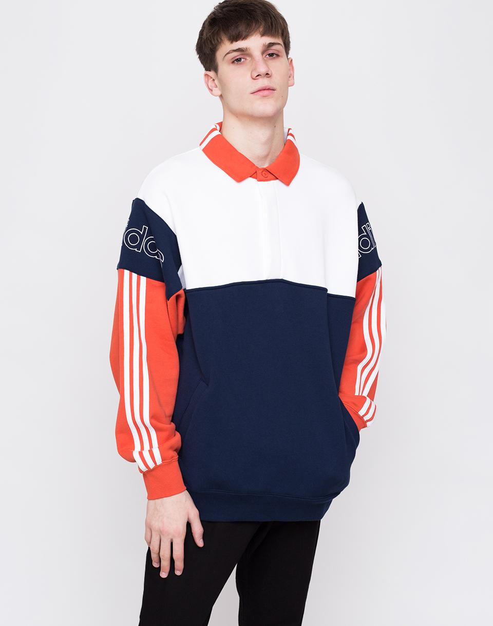 Adidas Originals Rugby Sweatshirt Multicolor L