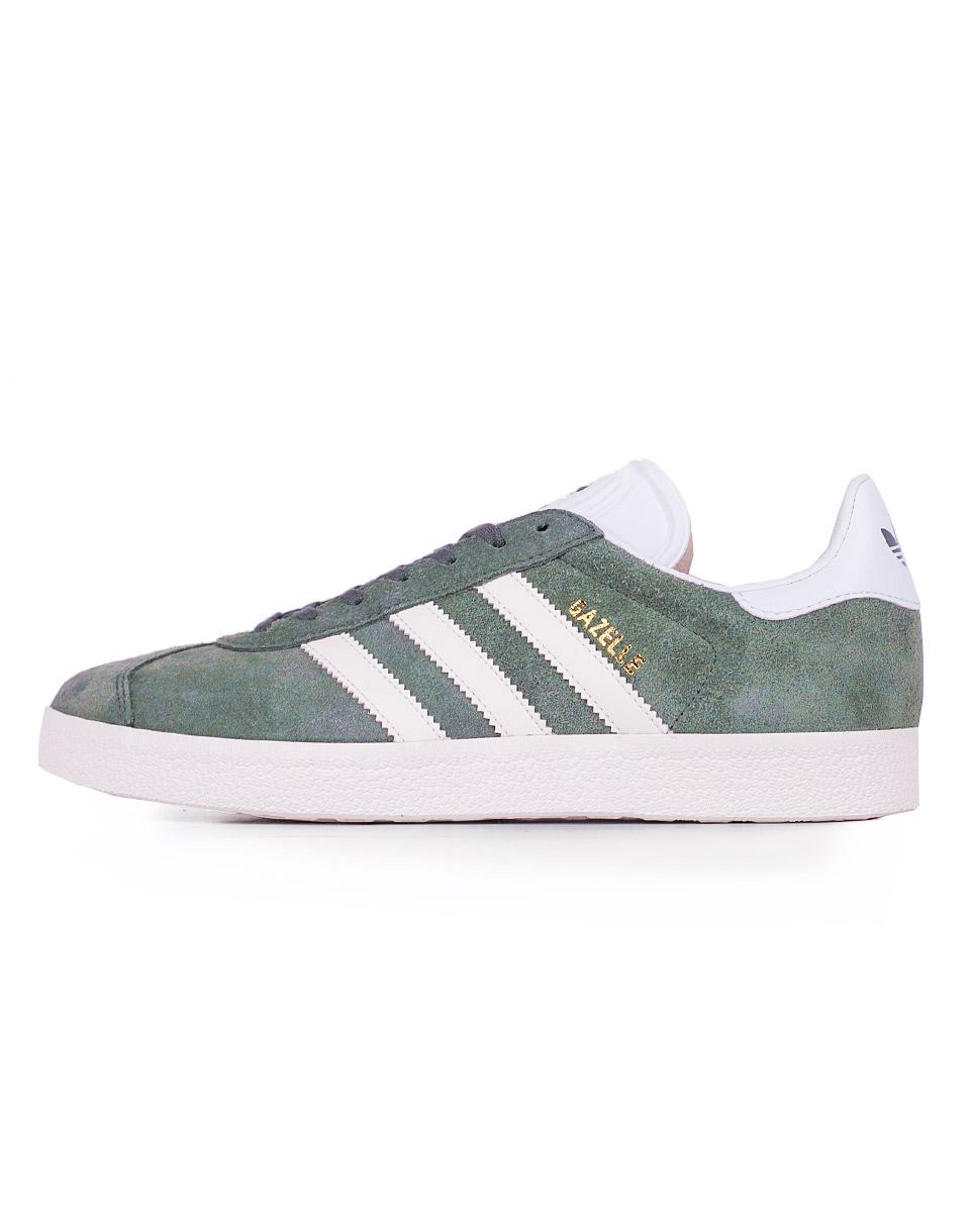 Adidas Originals Gazelle Trace Green / Off Whitew / Footwear White 40,5