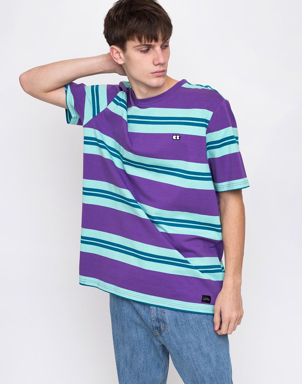Lazy Oaf Stripy Eyes Purple L