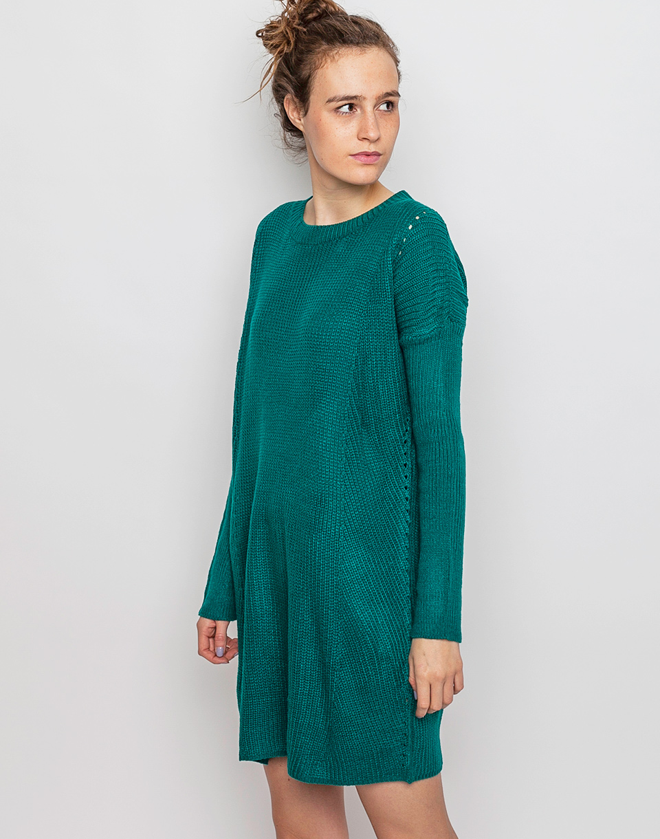 Šaty Compania Fantastica Benson green M/L