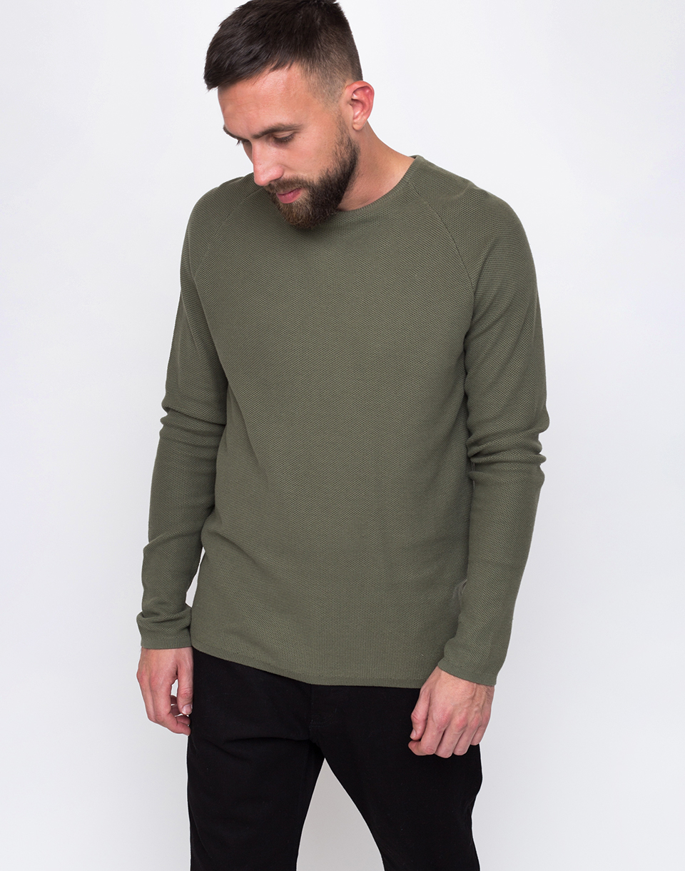 RVLT 6008 Knit lightarmy L
