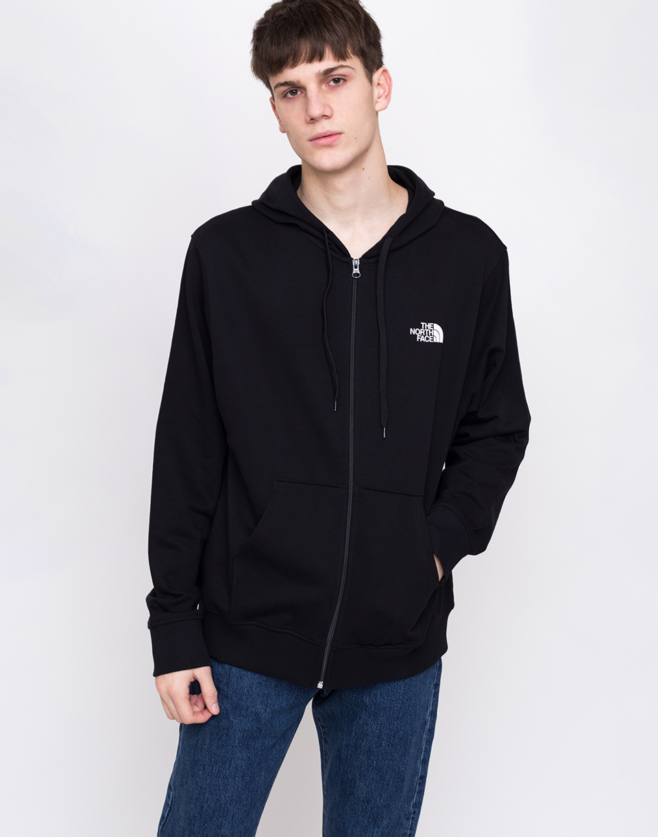 The North Face The North Face Open Gate Light Zip Hoodie TNF BLACK L