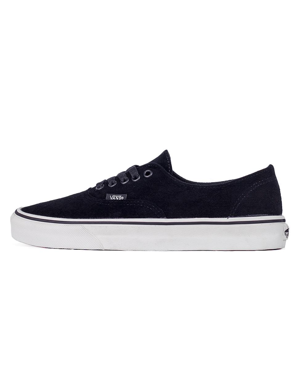 Sneakers - tenisky Vans AUTHENTIC DECON (PIGSUEDE)BLACK/black 42