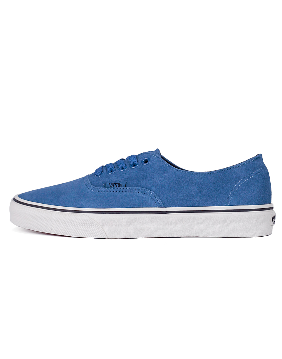 Sneakers - tenisky Vans AUTHENTIC DECON (PIGSUEDE)BLU/ashes 42