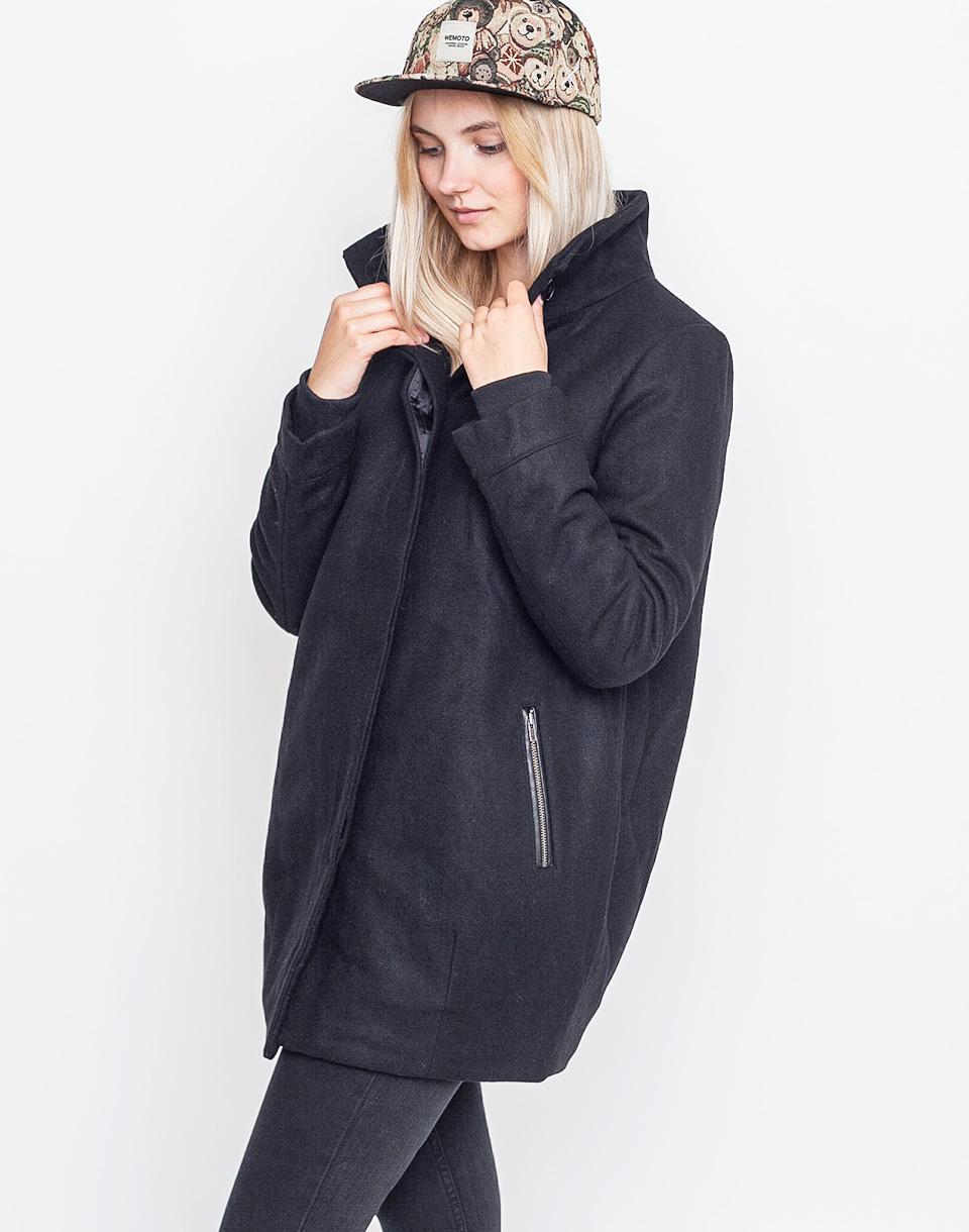 Kabát Wemoto Jayne BLACK xs + doprava zdarma