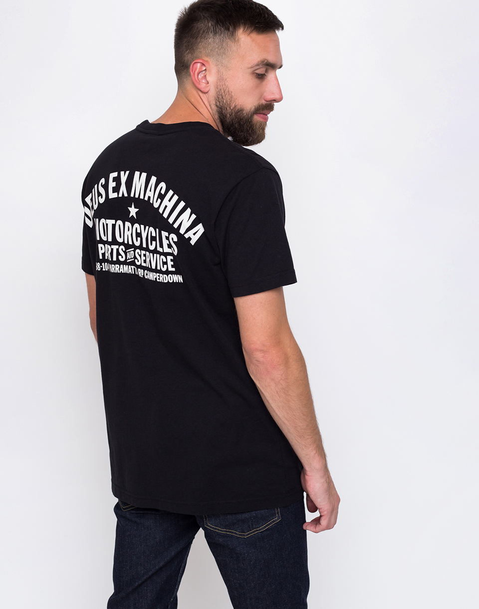 Deus Ex Machina Camperdown Address Black L