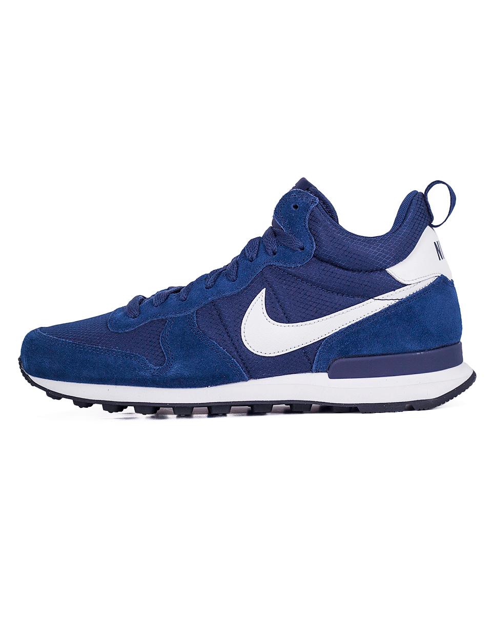 Sneakers - tenisky Nike Internationalist Mid Midnight Navy / White - White 42