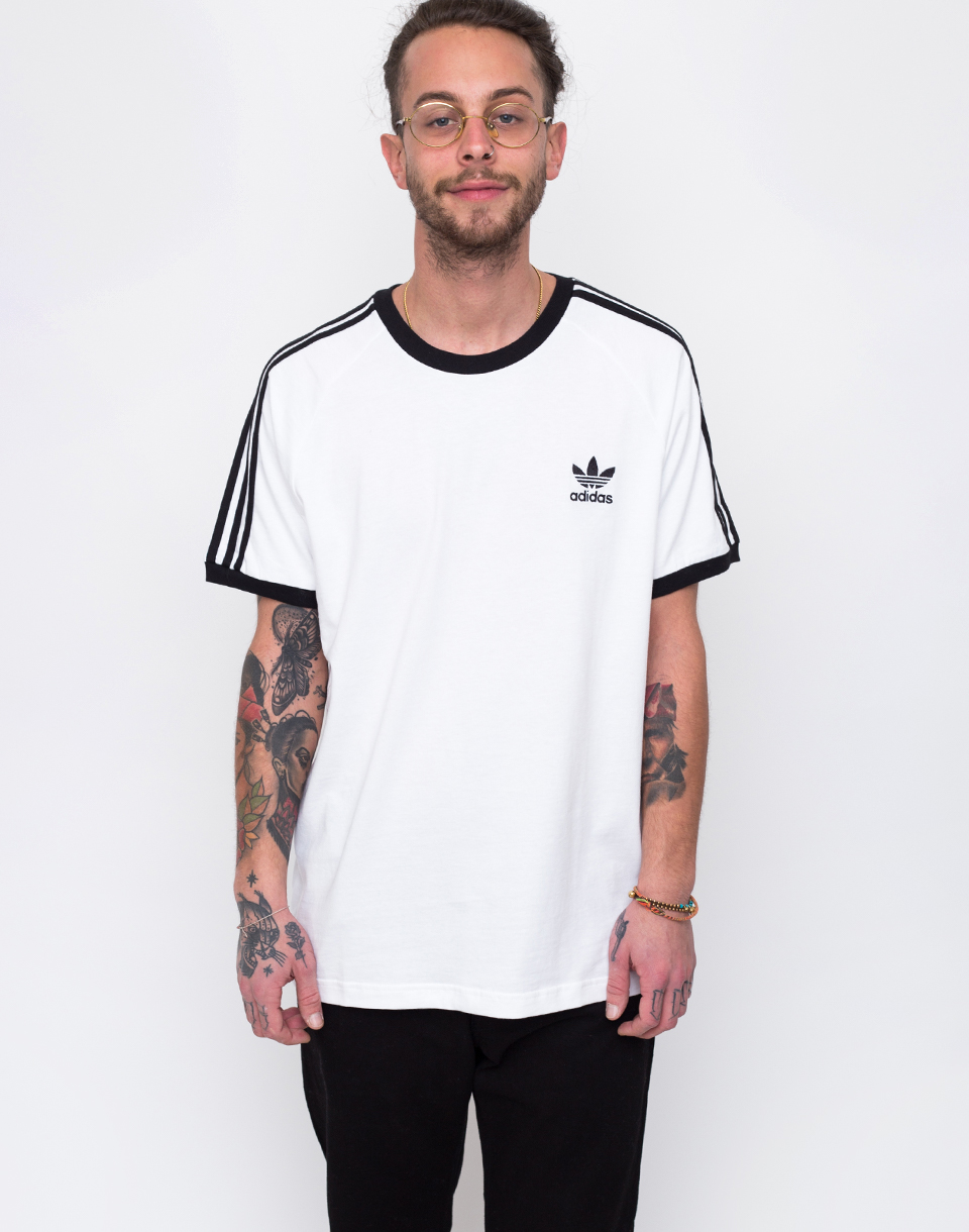 adidas Originals 3 Stripes White L