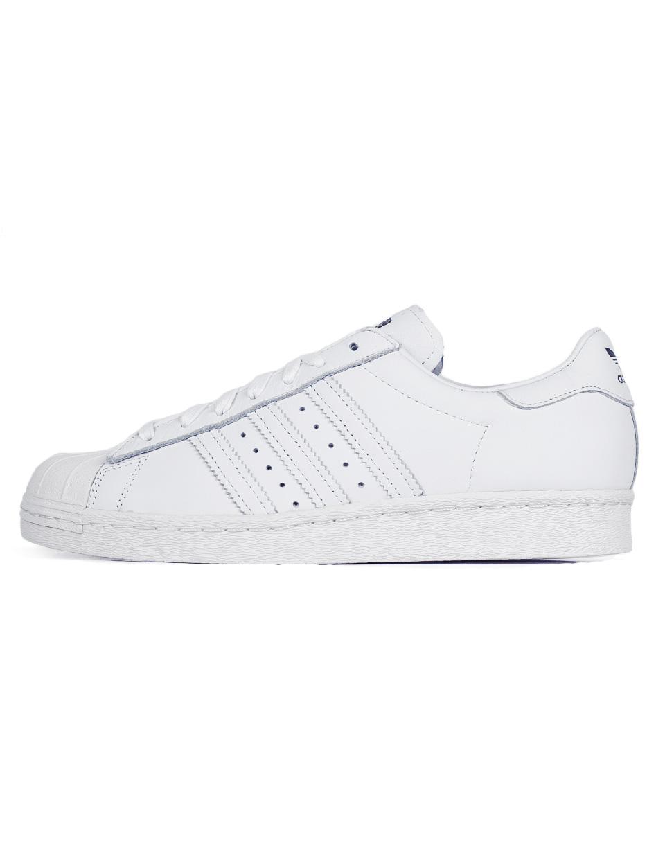 Sneakers - tenisky Adidas Originals SUPERSTAR 80s DLX FTWWHT/FTWWHT/CWHITE 42,5 + doprava zdarma