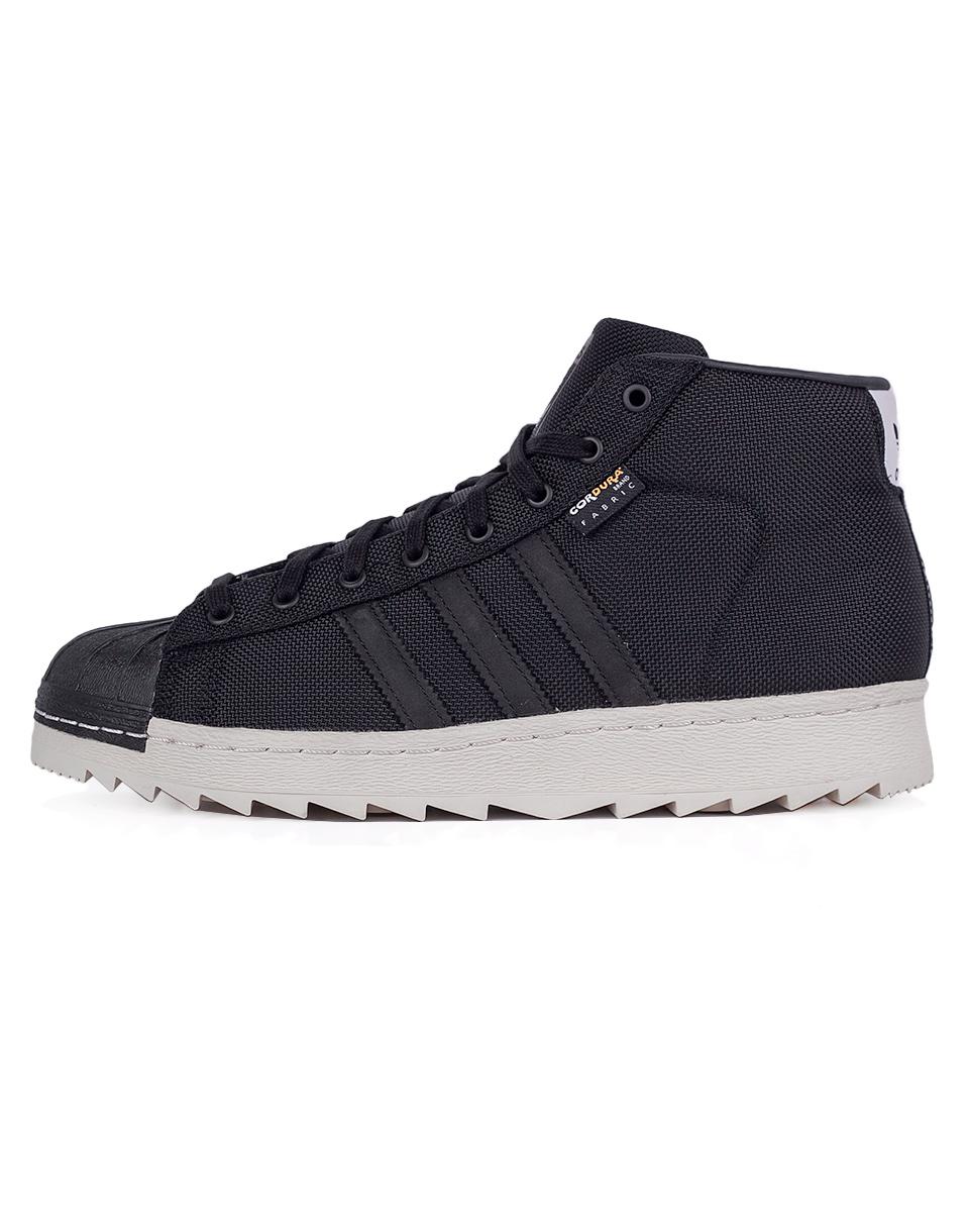 Sneakers - tenisky Adidas Originals Pro Model 80s Cordura White / Core Black / Unity Orange 46 + doprava zdarma