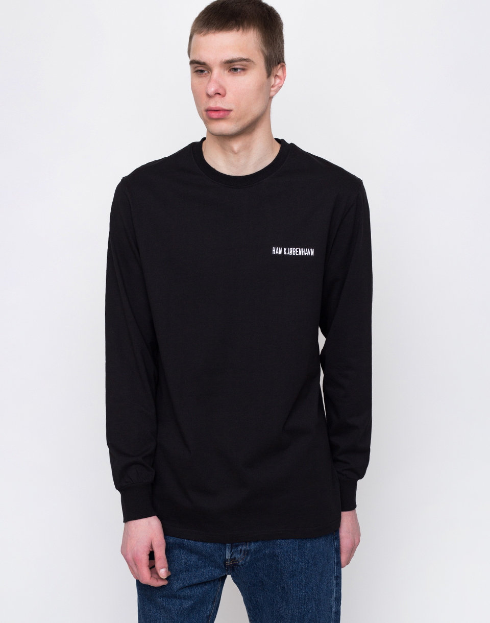 Han Kjøbenhavn Casual Long Sleeve Tee Black L