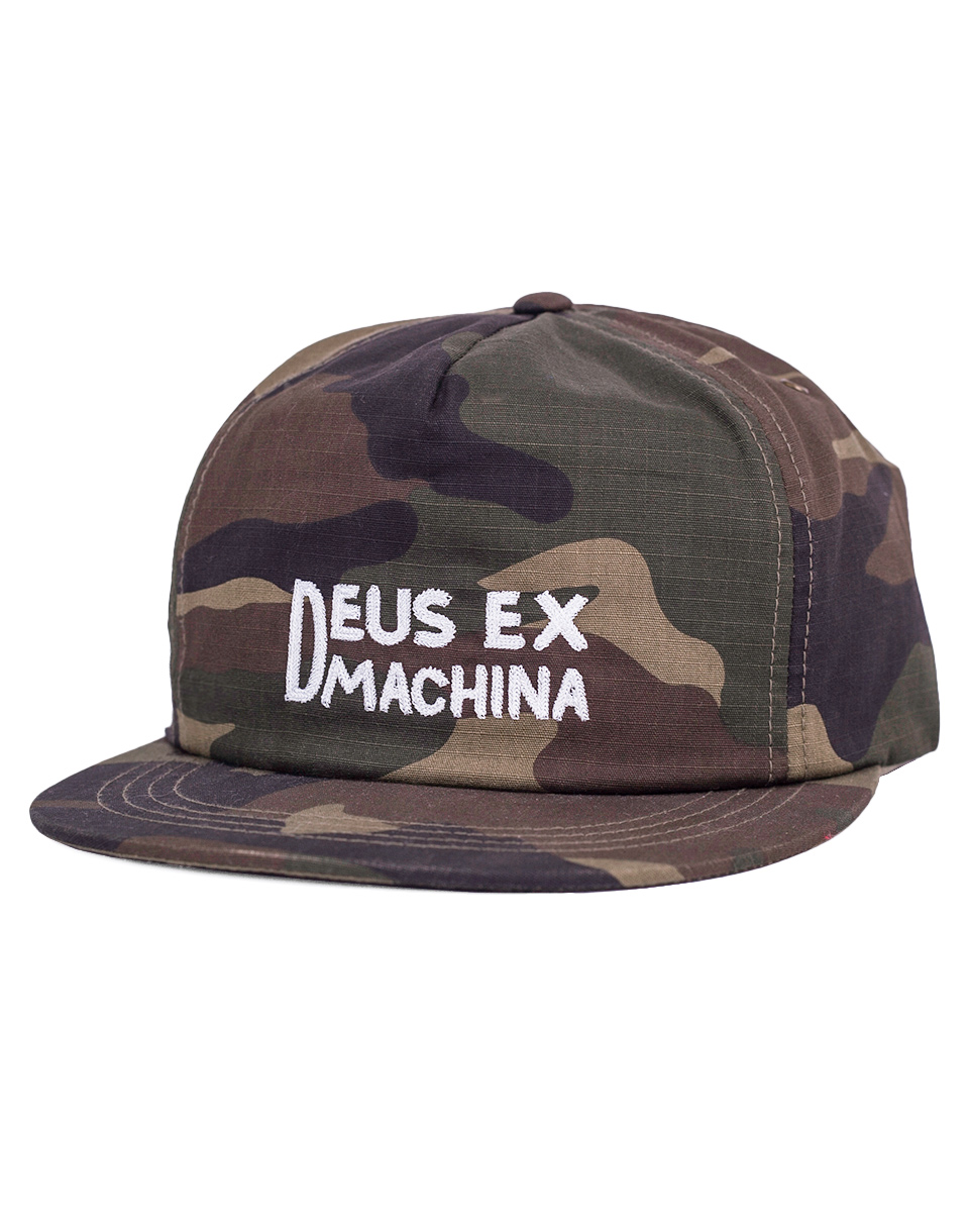 Kšiltovka Deus Ex Machina Camo Sam camouflage