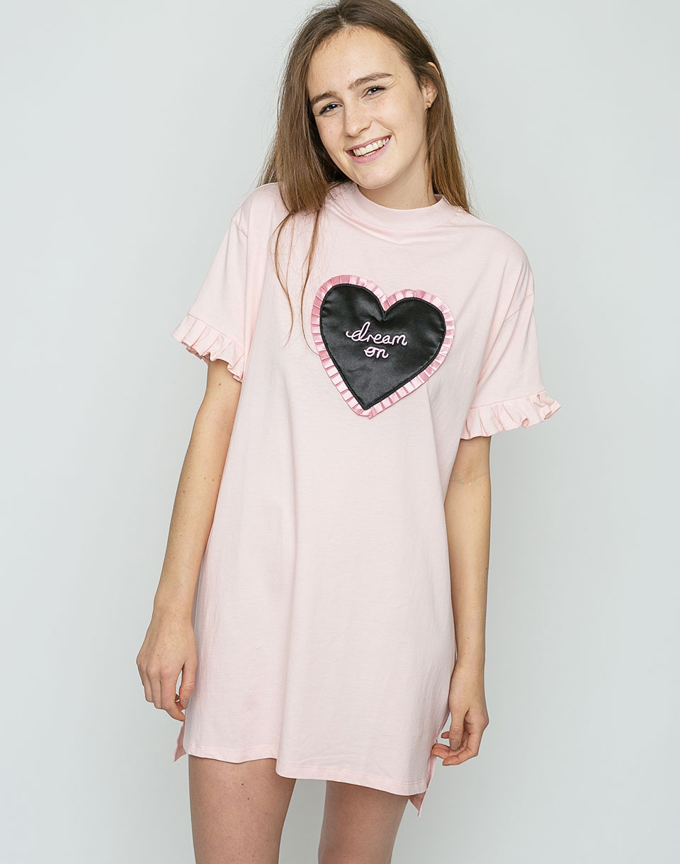Lazy Oaf Dream On Pink M L