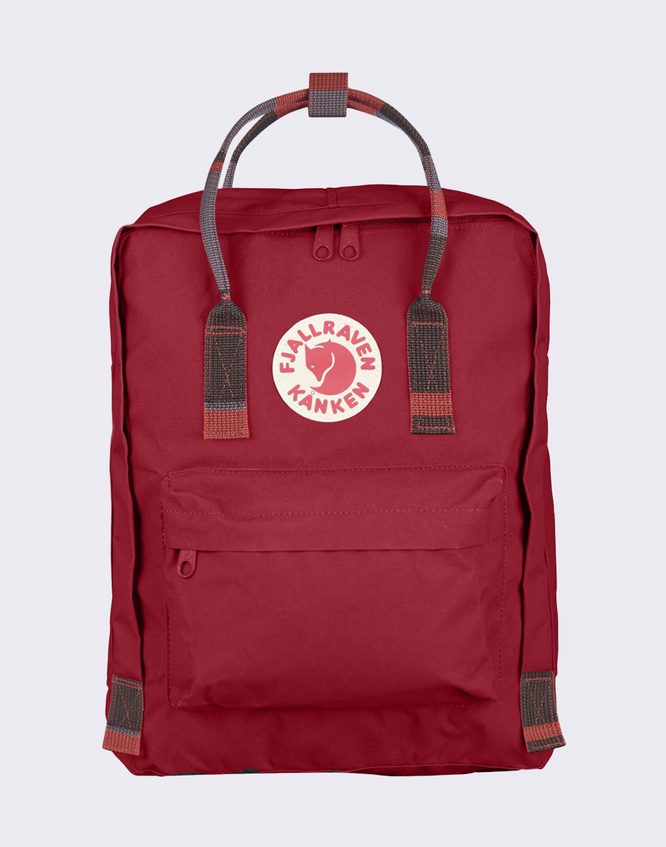 Fjällräven Kanken 325 915 Deep Red Random Blocked
