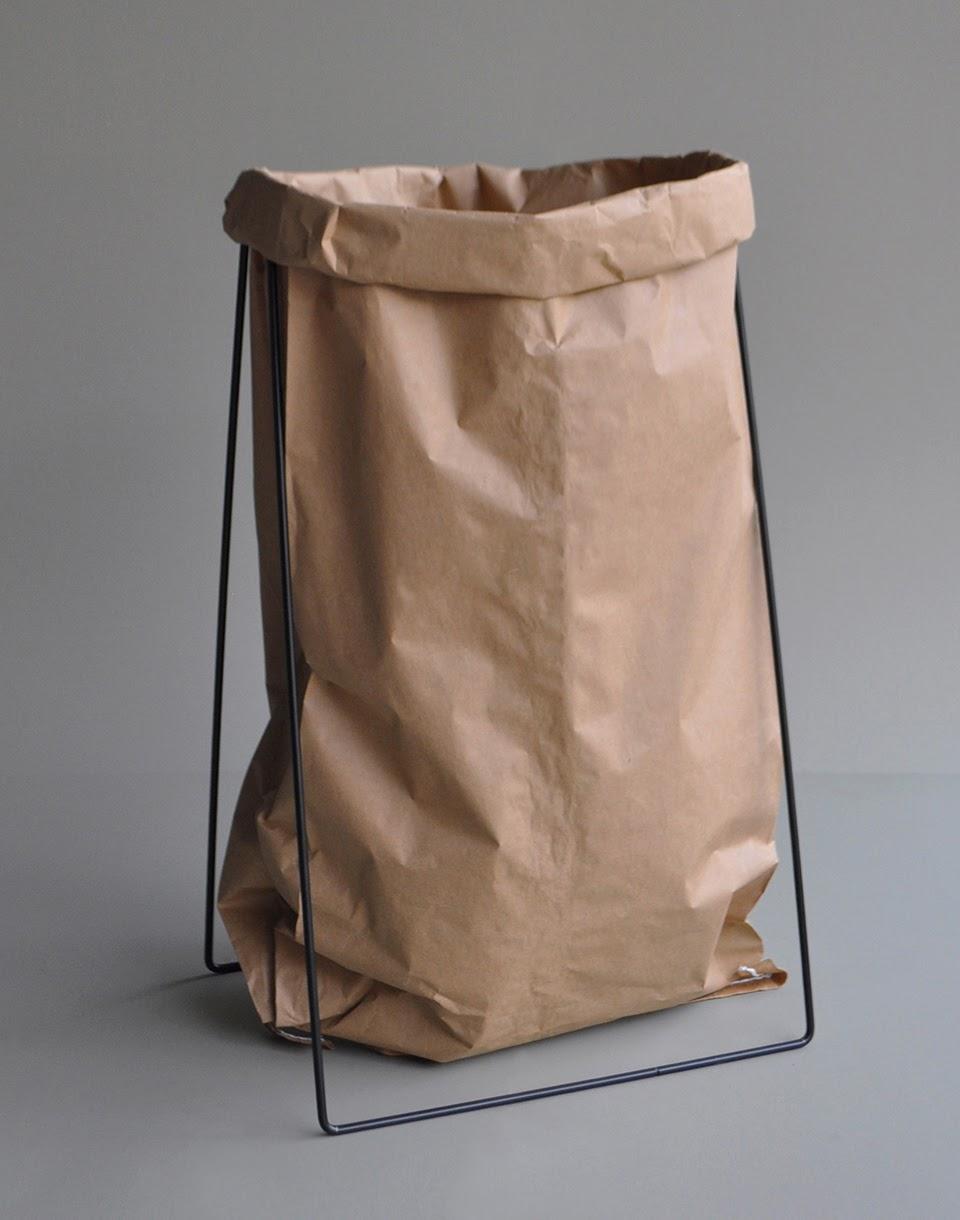 Papírnictví Adónde Kolor Paper Bag Holder Black + novinka