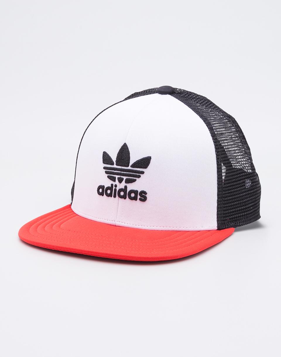 Kšiltovka Adidas Originals TH Trucker Black/White/Red + novinka