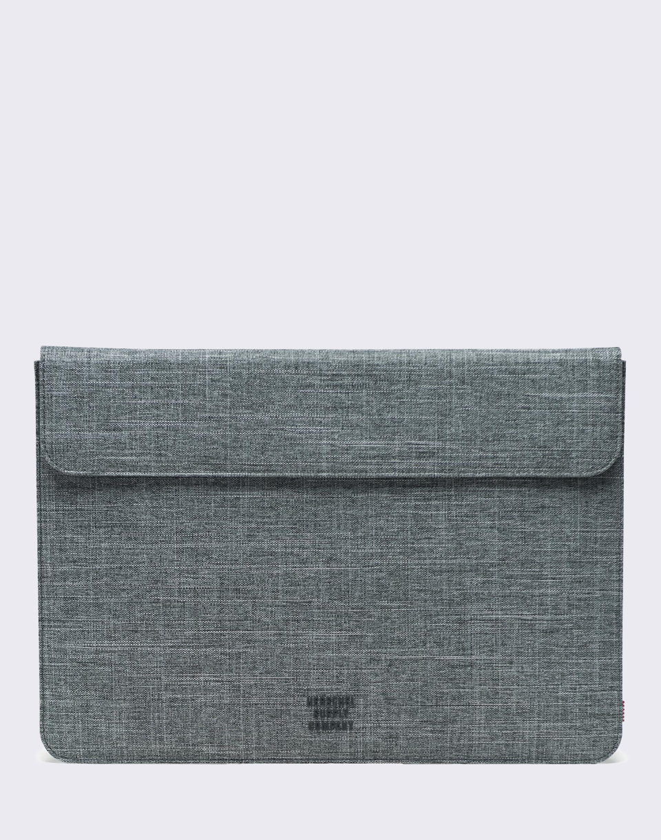 Herschel Supply Spokane Sleeve for 15 inch Macbook Raven Crosshatch