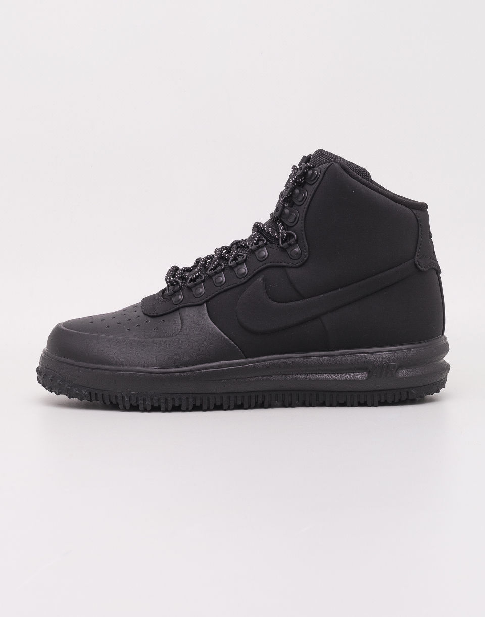 Nike Lunar Force 1 Duckboot  18 Black  Black   Black 43