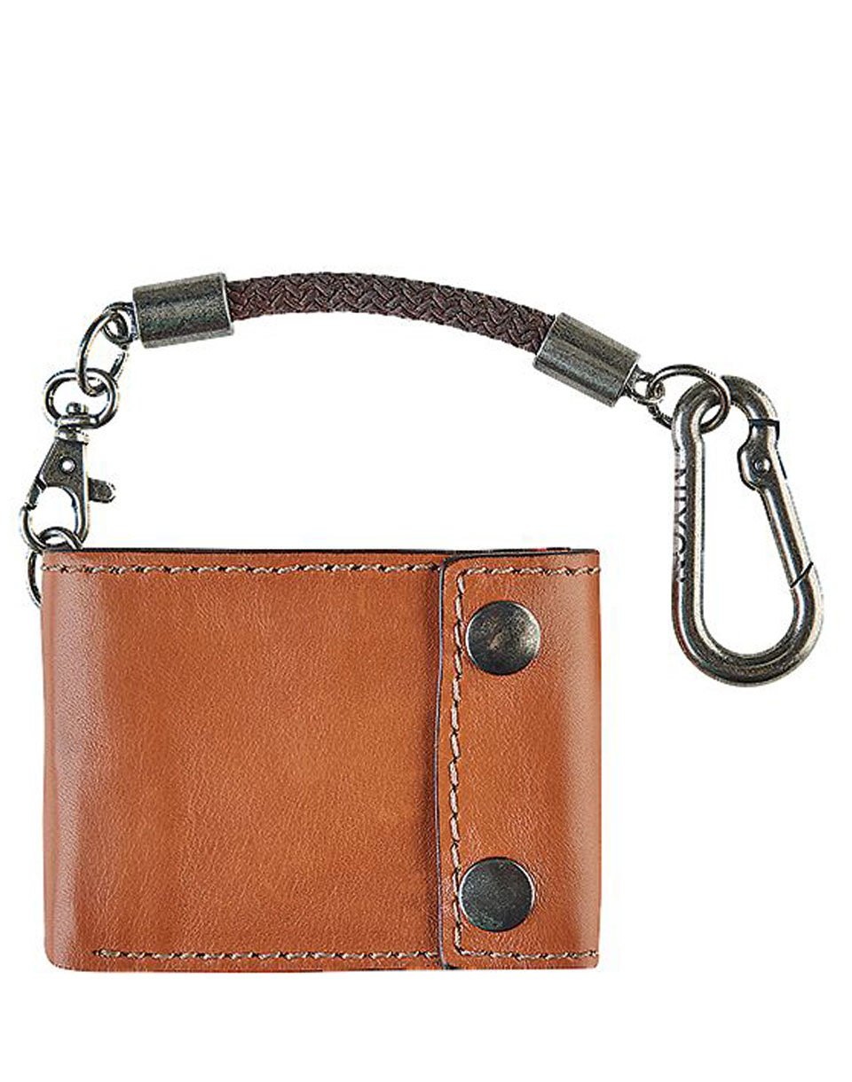 Peněženka Nixon Gravel Bi-Fold Rope Saddle