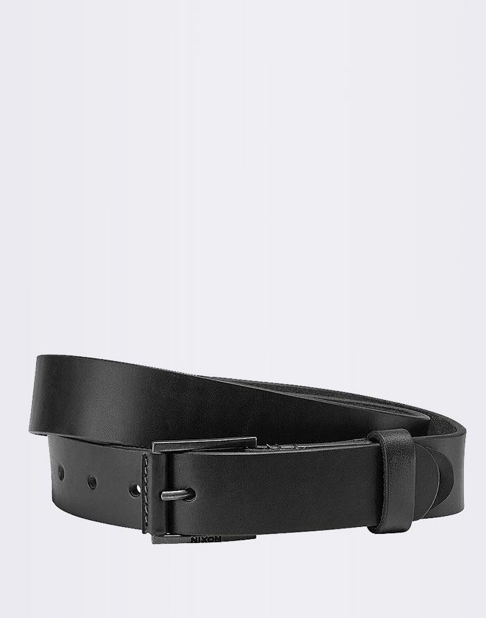 Pásek Nixon Legacy Belt BLACK m + novinka
