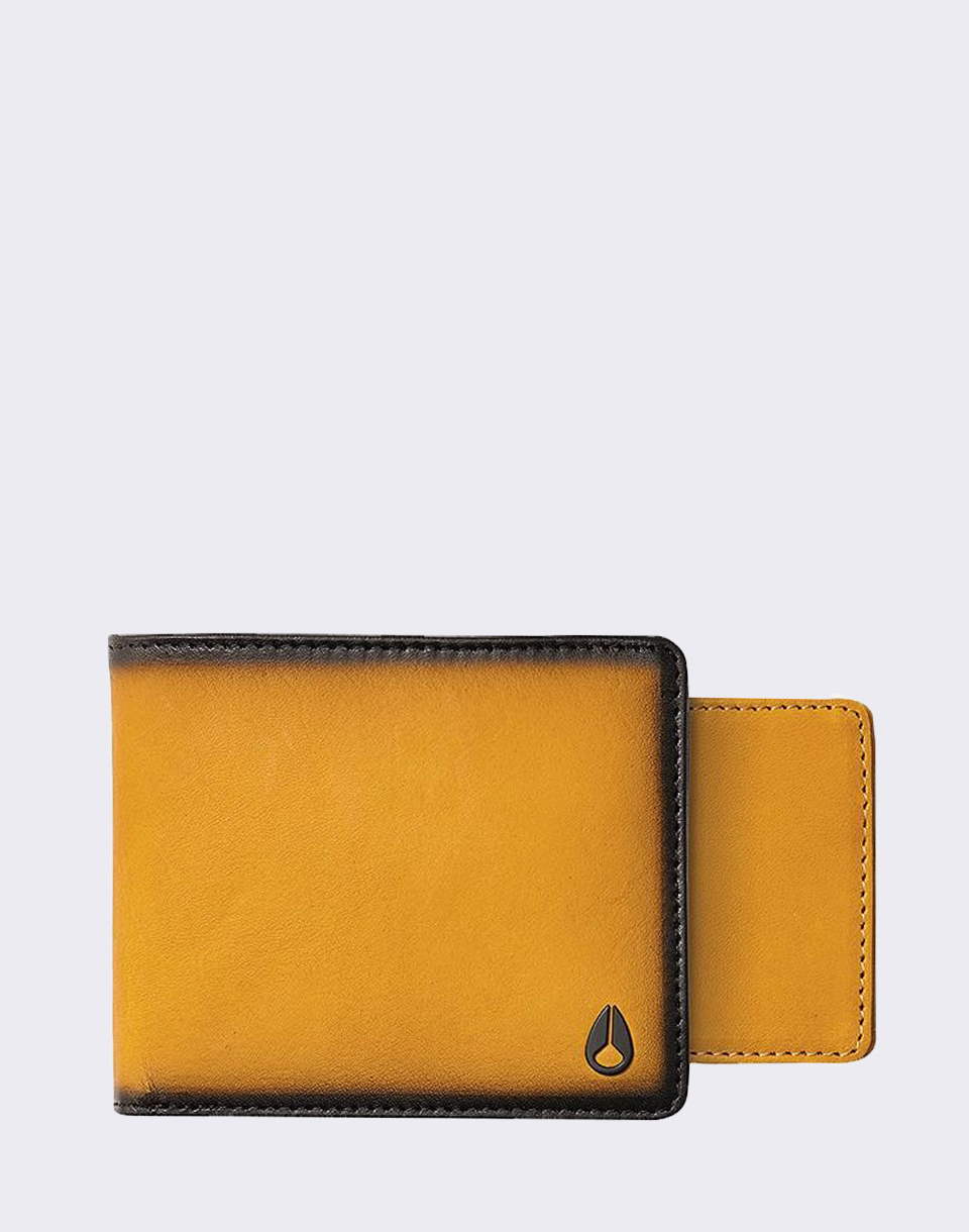 Nixon Satellite Big Bill Bi Fold Wheat