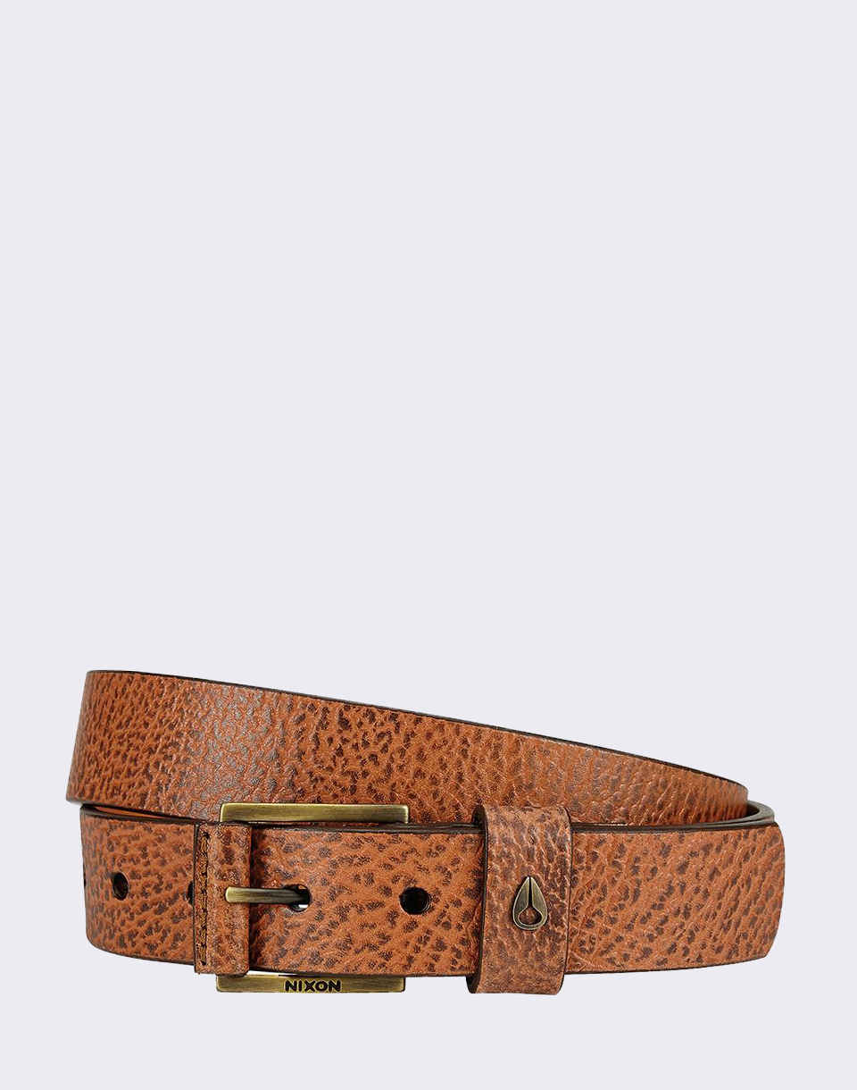 Nixon Americana Mid Belt Brown S