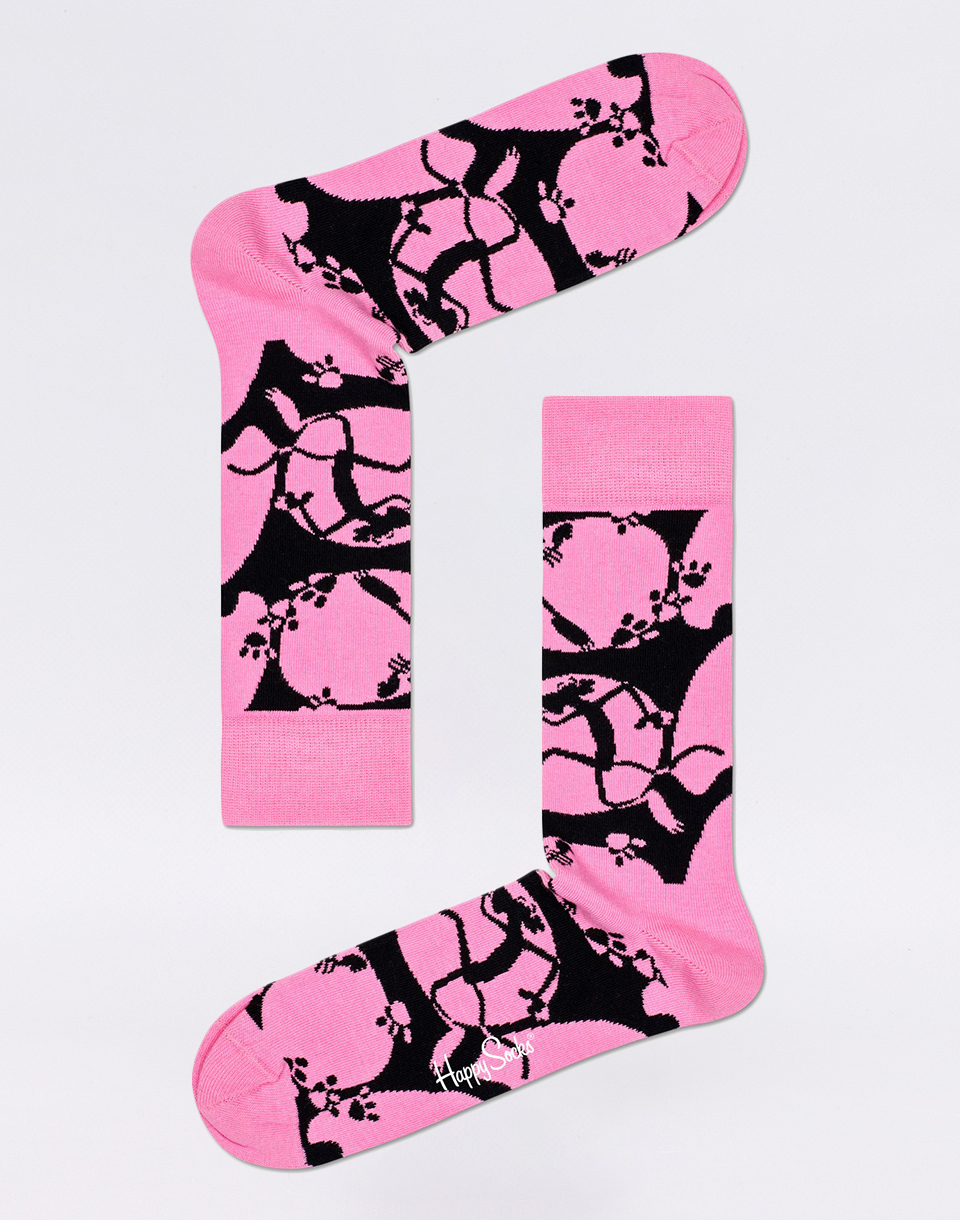 Happy Socks Pink Panther Pink A Boo PAN01 3200 41 46