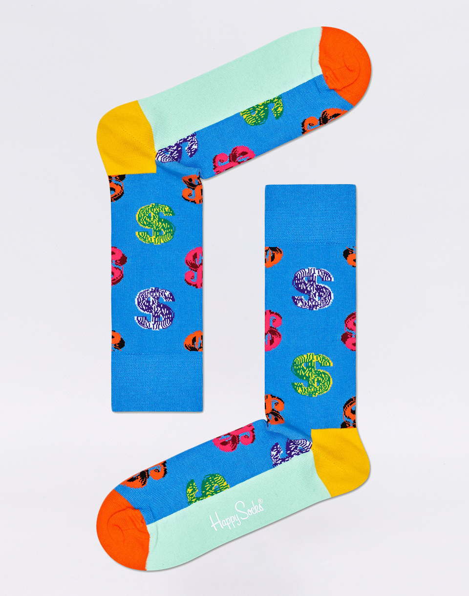 Happy Socks Andy Warhol Dollar AWDOL01 6500 41 46