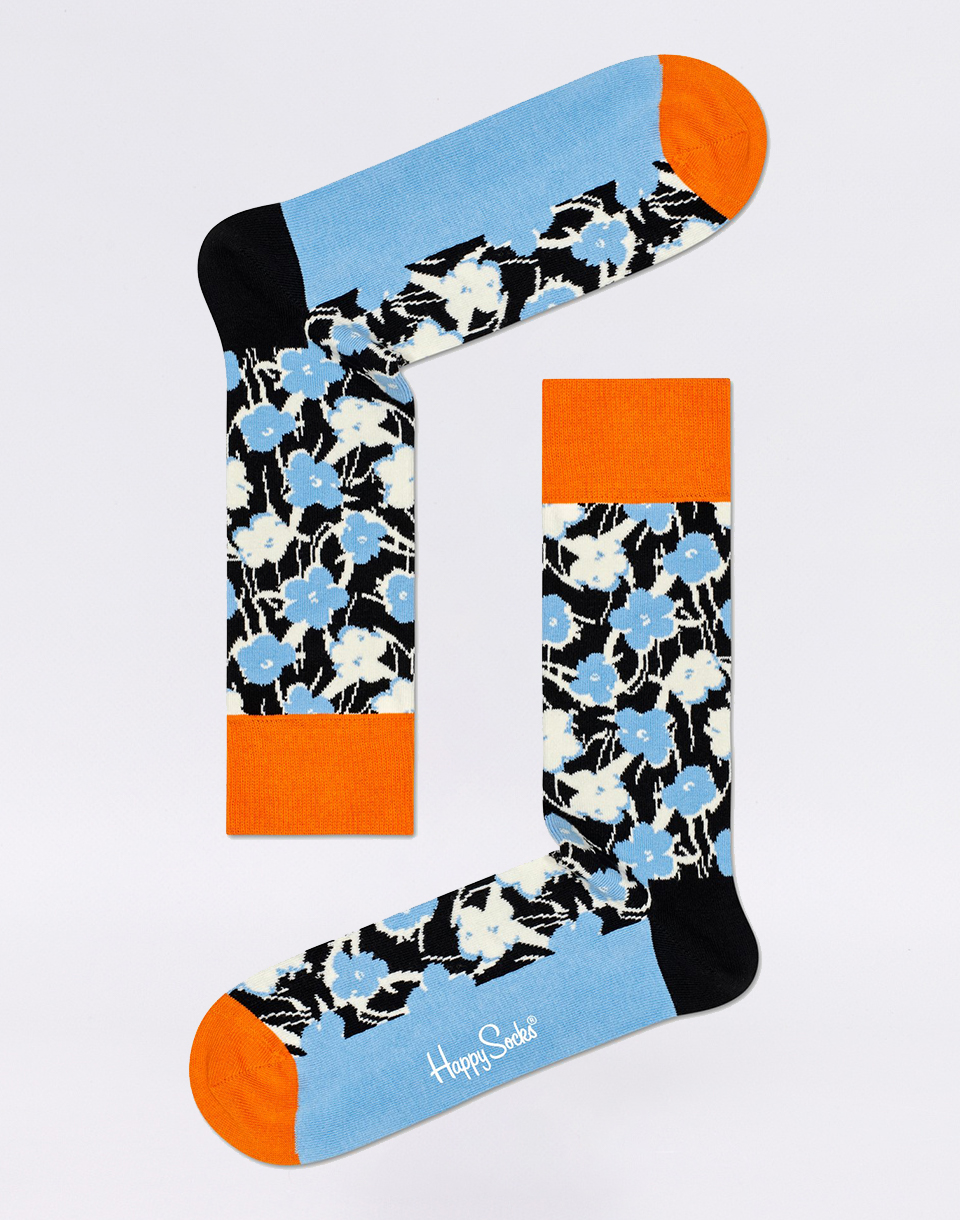 Happy Socks Andy Warhol Flower AWFLO01 6500 41 46