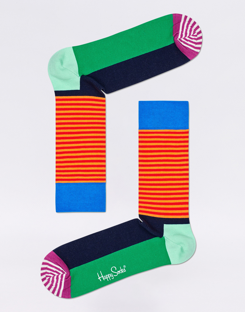 Happy Socks Half Stripe HAS01 7300 41 46
