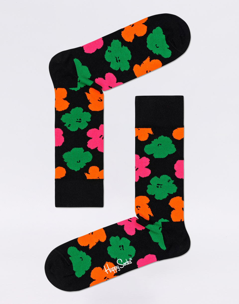 Happy Socks Andy Warhol Flower AWFLO01 9000 41 46