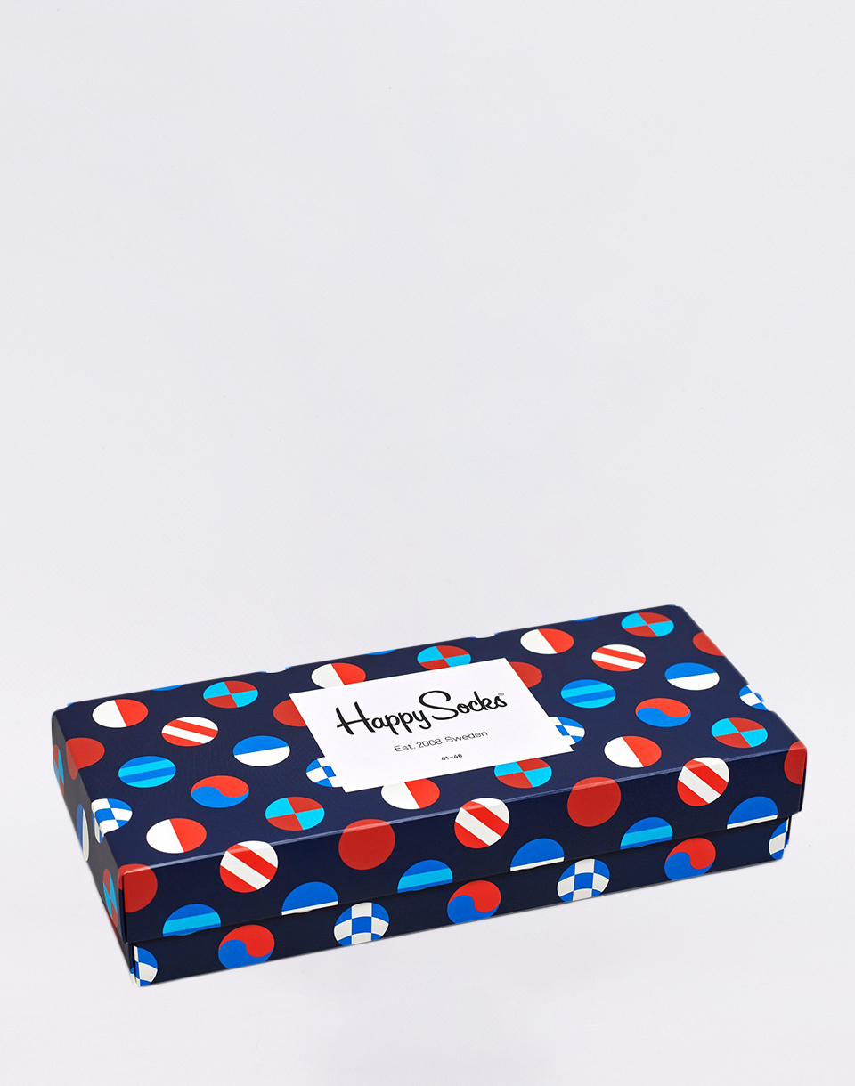 Happy Socks Navy Gift Box XNAV09 6500 36 40
